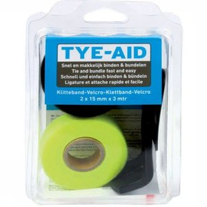 Tye-Aid Blister Kit en Dispenser Velcro