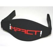 Impact Maskerband Neopreen Zwart