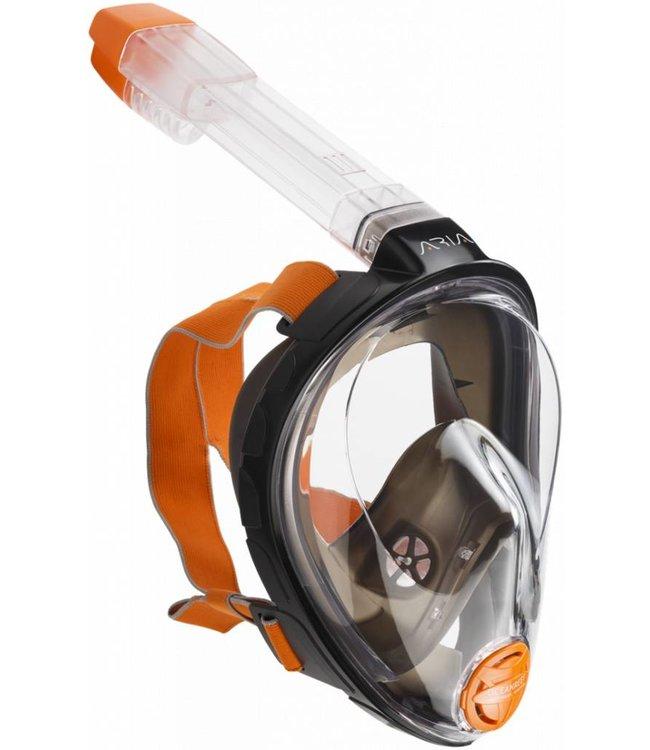 Oceanreef Aria Snorkelmasker Zwart
