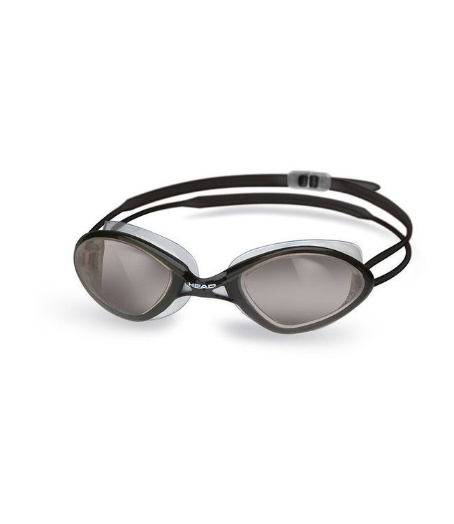 Head Tiger Race LSR+ zwembril Clear Black Smoke