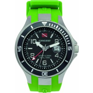 Cressi Traveller Dual Time Groen