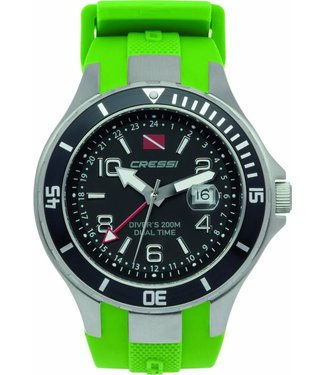Cressi By The Sea Cressi Traveller Dual Time Groen