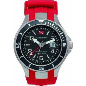 Cressi Traveller Dual Time Rood