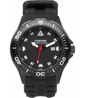 Cressi By The Sea Cressi Manta Horloge Zwart