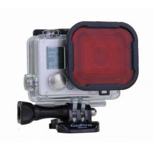 PolarPro Rood Filter GoPro Hero 3+ en 4