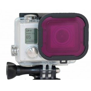 PolarPro Magenta filter GoPro Hero 3+ en 4