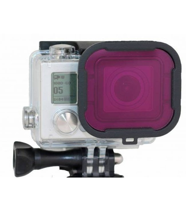 PolarPro Magenta filter GoPro Hero 3+ en 4