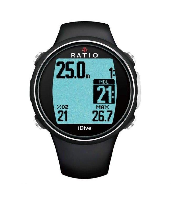 Ratio iDive Easy Sport Zwart