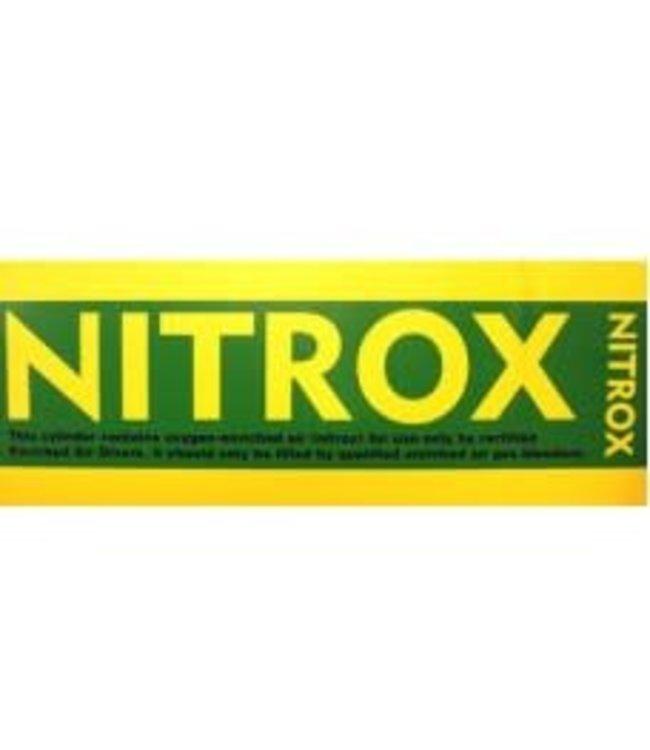 Flessticker NITROX