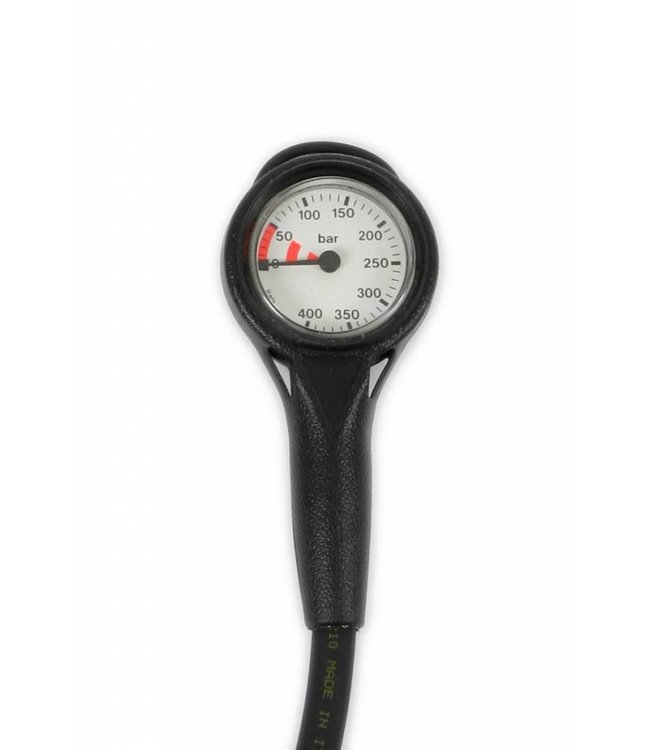 Manometer 400 bar met slang