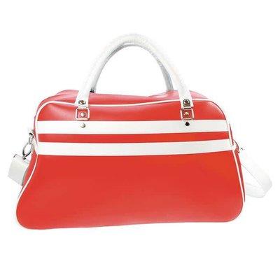 Retro Sportsbag rood