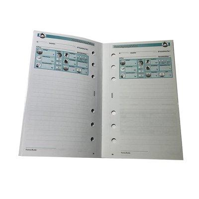 Sub-book logboek comfort vulling