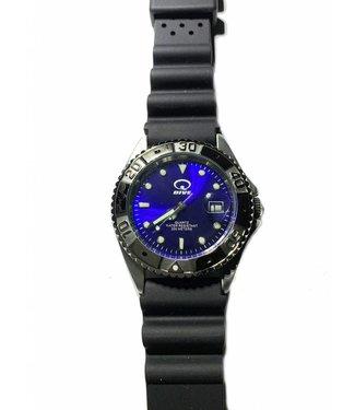 Q-Dive Q-dive Duikhorloge heren blauw