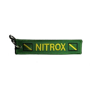 Sleutelhanger Nitrox Groen