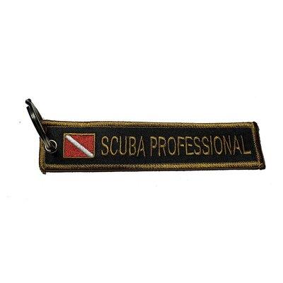 Sleutelhanger Scuba Professional