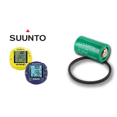 Suunto Batterij Kit Favor, OctopusII, Companion