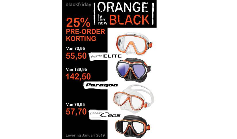 Black Friday Deal; Orange is the new Black !!