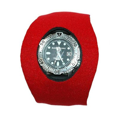 Neopreen Horloge Protector Medium Rood