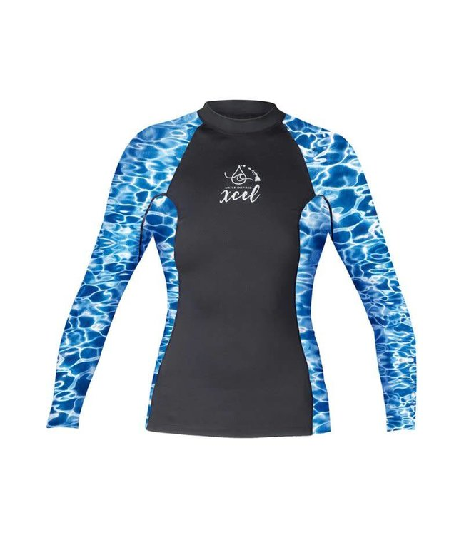 Xcel Rash Guard Dames Lang Water Ocean Ramsey collection