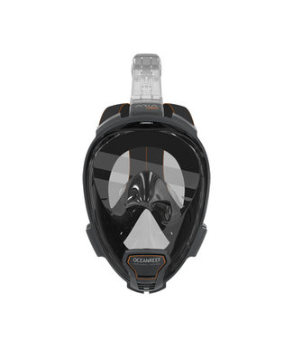 Oceanreef Aria Snorkelmasker QR+ Zwart