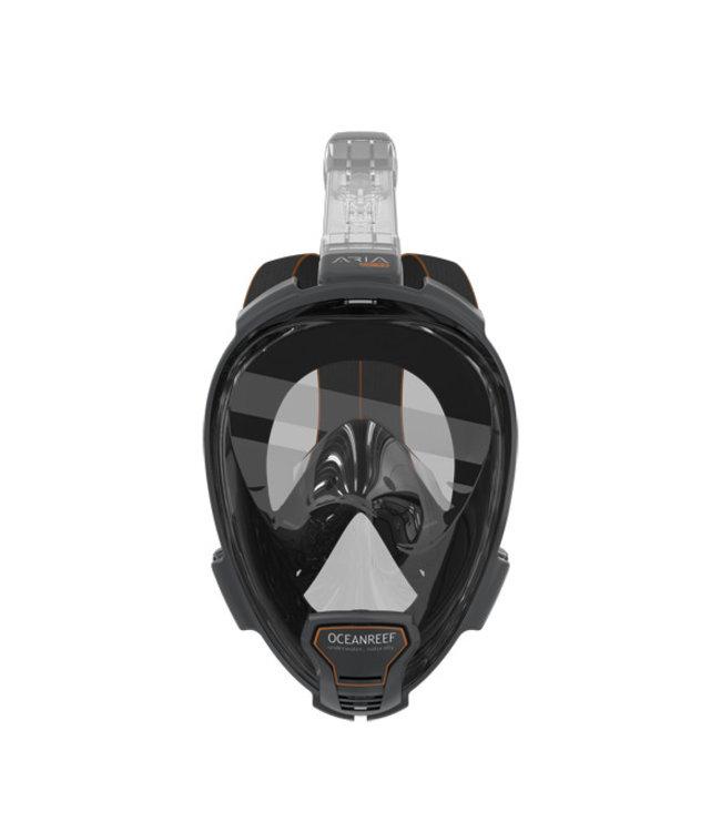 Aria Snorkelmasker QR+ Zwart