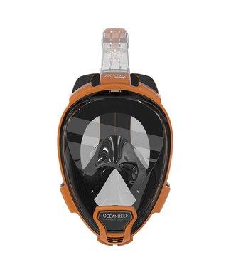 Oceanreef Aria Snorkelmasker QR+ Oranje
