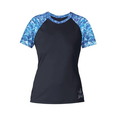 Xcel Rash Guard dames kort Water Ocean Ramsey collection