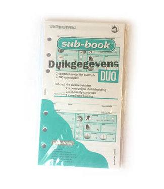 Sub-base Sub-book logboek vulling