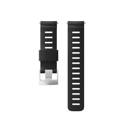 Suunto Silicone Strap Kit D5 Black-Steel
