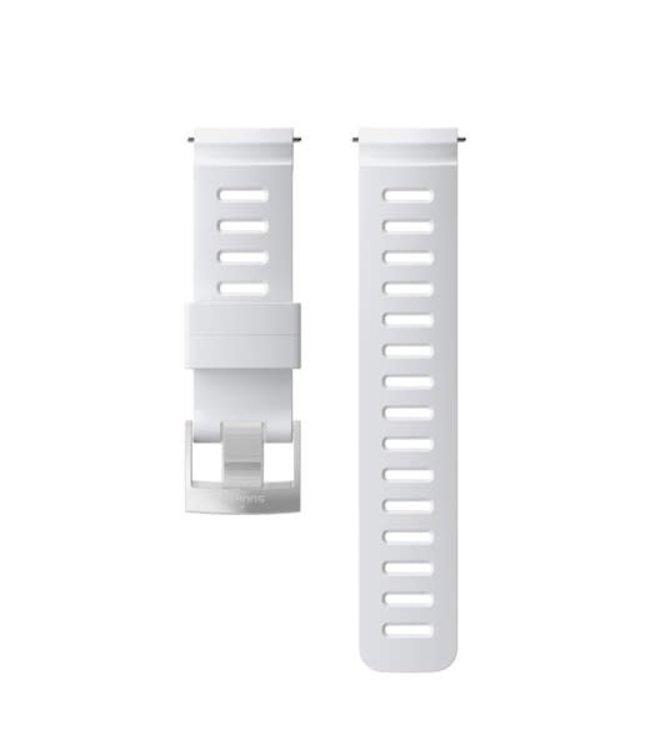 Suunto Silicone Strap Kit D5 White-Steel