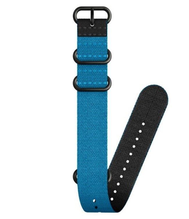 Suunto Textile Zulu Strap Kit D5 Blue-Black
