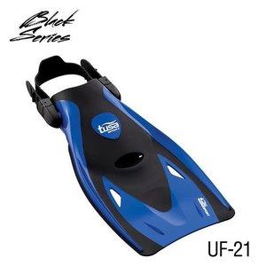 Tusa snorkelvin Zwart-Blauw