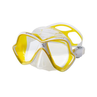 Mares X-Vision Liquid Skin masker Geel