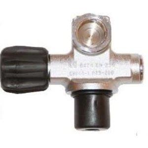 Kraan Enkel 300 bar M25X2 met plug