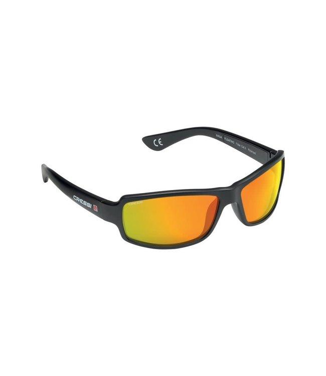 Cressi Ninja zonnebril Floating Mirror Oranje