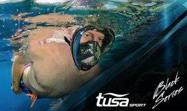 TUSA Snorkelmasker Black Series voor het ultieme snorkelgemak