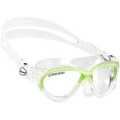 Cressi Mini Cobra junior zwembril Lime