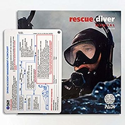 PADI Rescue Diver cursusboek