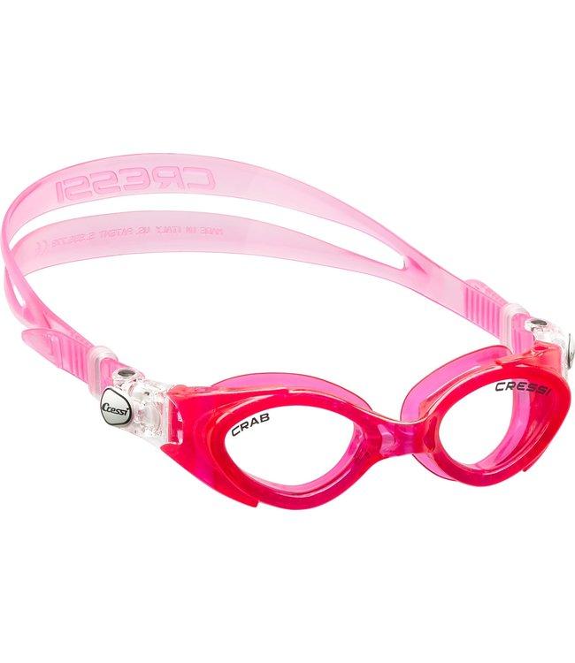 Cressi Crab junior zwembril Roze