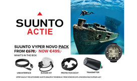 ACTIE Suunto Vyper Novo Transmitter Pack