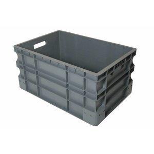 Kist stapelbaar grijs