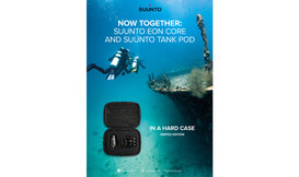 Limited edition Suunto Eon Core met Tank Pod in hardcase