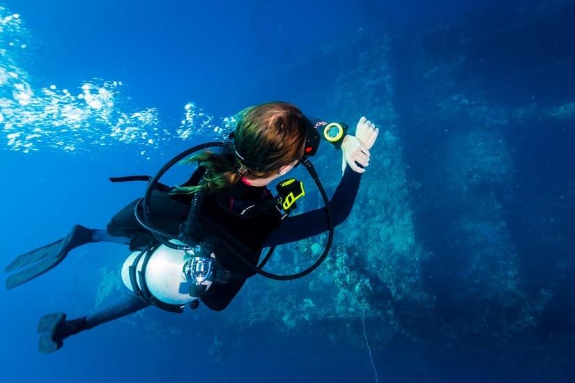 Suunto Zoop Novo onderwater