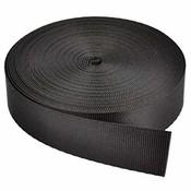 Webbing voor loodgordel zwart 5cm per meter