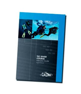 Padi PADI Tec Diver Course Instructor Guide CD-ROM