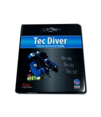 Padi PADI Instructor Guide in map - Tec Diver