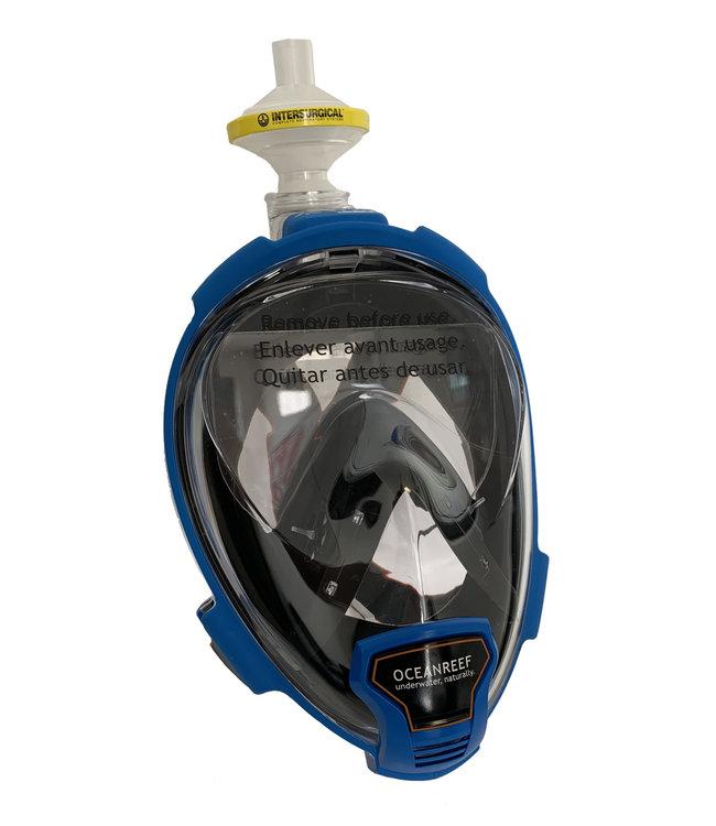 Oceanreef Aria QR+ Beschermmasker C-19 Blauw