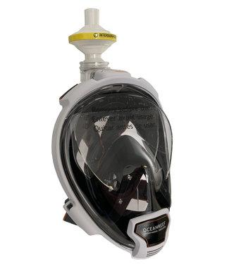Oceanreef Aria QR+ Beschermmasker C-19 Wit