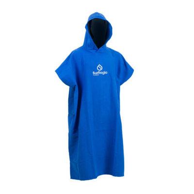 Microfiber Poncho Blauw