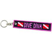 Sleutelhanger Dive Diva
